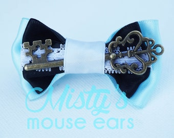 Inspired Alice in Wonderland Slider Bow for the Magicband