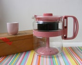 Gemco Micro-Perk, Gemco Percolator, Pink Gemco, Microwave Percolator, Microwave Coffee pot, Pink Percolator