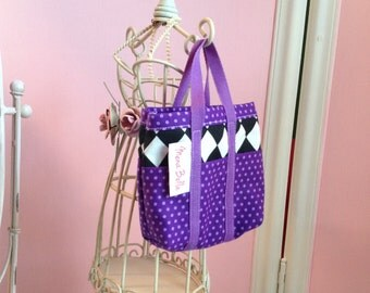 NEW! One Beach Bag, lined, for your day at the beach made to fit 18 inch doll