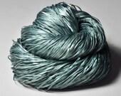 Rain in a graveyard  - Silk Tape Lace Yarn - SUMMER EDITION