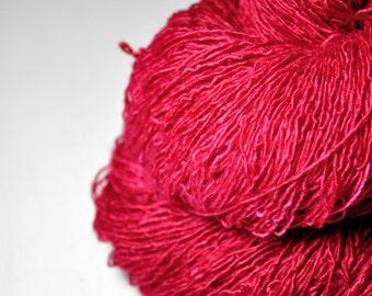 Murderous make-up - Tussah Silk Fingering Yarn