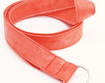 Red - Lanyard ID Badge Holder - Key Strap - Sandy Gervais Frolic