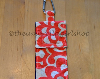 READY TO SHIP - Thieves Pouch for Hand Gel or Spray - Amy Butler Flowers