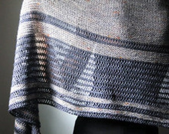 ASUNDER Shawl Yarn & Pattern Kit - Merino/Silk Fingering