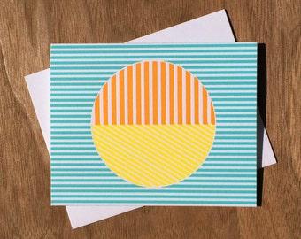 Handmade Letterpress Another Dimension