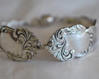Uniquely Beautiful Silver Spoon Bracelet