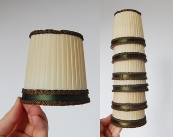 lamp shades french 6 vintage small lamp shades clip on