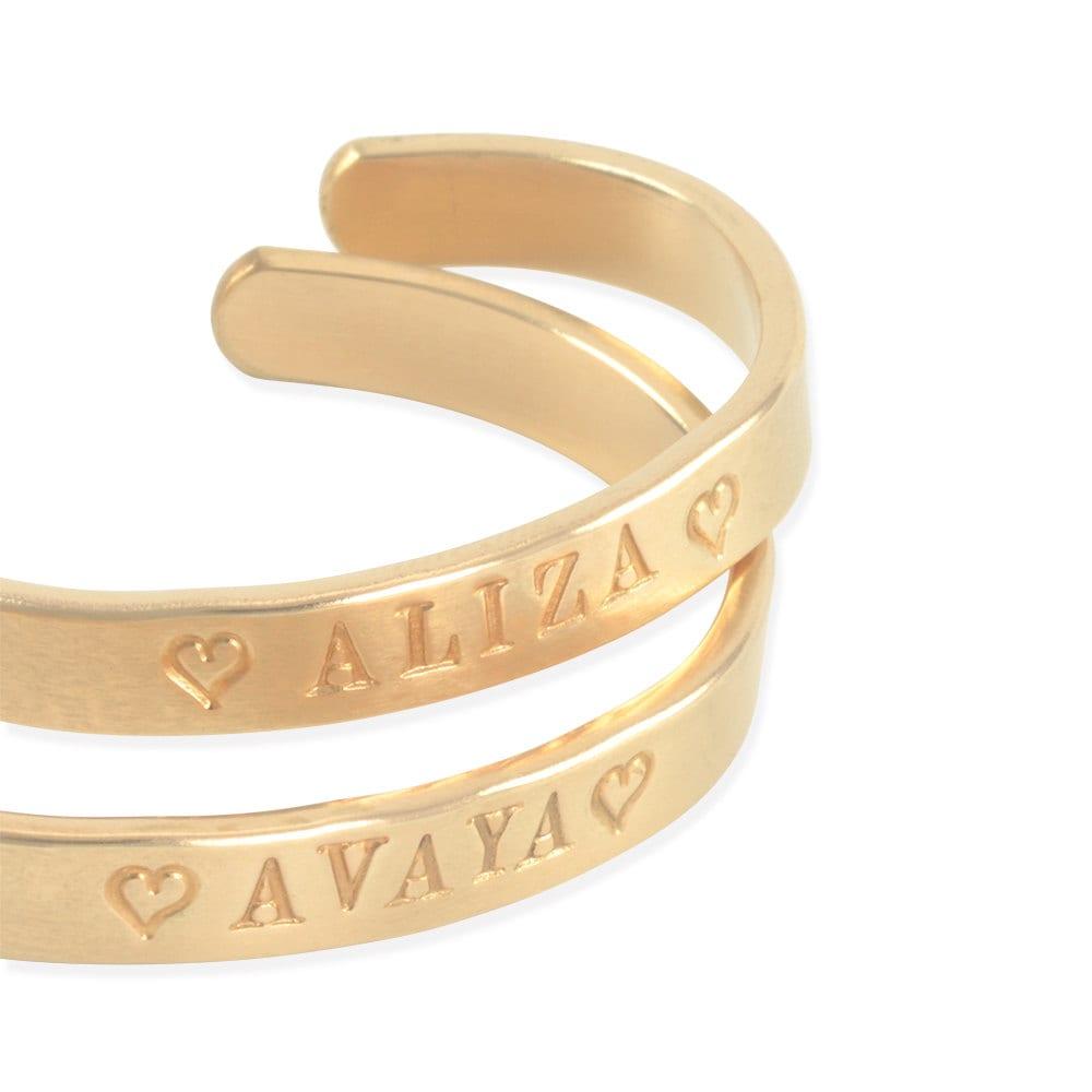 gold cuff bracelet 14k for baby girls tween teen hand
