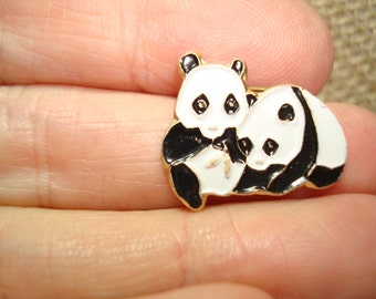 Chinese Zoo Panda Bear Pin.