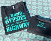 Road Trip/ Girl's Weekend/ Bachelorette Party/Willie Nelson/ On the Road Again Shirt