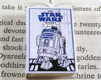 Miniature Classic Novels Book Necklace Charm Star Wars Version 3