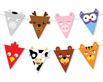 Animal Party Banner