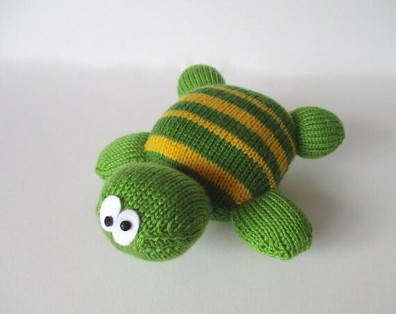 Knitting Patterns Turtle Toy : Topsy Turvy Turtle toy knitting pattern by fluffandfuzz on ...