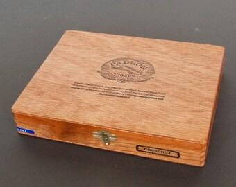 Vintage Wooden Padron Churchill Cigar Box