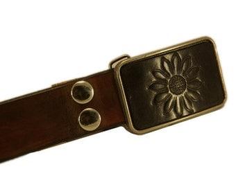 Belt buckle, flower belt buckle, flower buckle, black belt buckle, black flower buckle, black flower