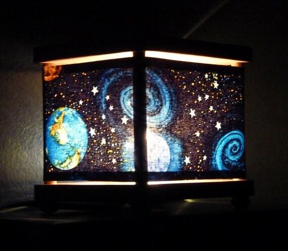 Space night light planet decor nightlights by babymamma1 for Decor planet