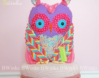BWinks' Big Stuffed Plush Owl