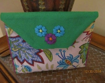 Cotton and Felt Pouch