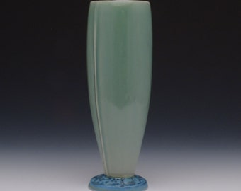 Glossy green Porcelain Ceramic Tumbler