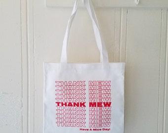 Thank Mew Tote Bag