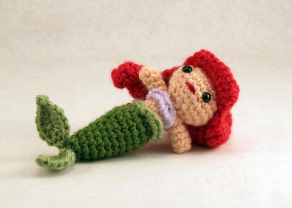 Amigurumi Little Mermaid : Little Mermaid Amigurumi