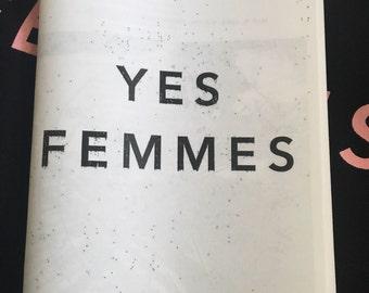 YES FEMMES zine
