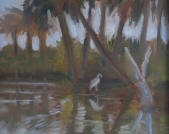 Original Plein Air Oil Painting Florida
