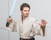 Jedi Tunic, Jedi Robes, Star Wars, Obi Wan, Jedi Cosplay, Custom Made Costume, Hand Made