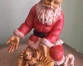Fontanini Depose Santa figure with baby jesus