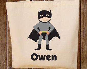 Superhero Tote Bag Boys Tote Bag