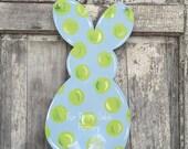Bunny back / Spring/ Easter door hanger