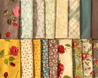 Urban Chiks Urban Cowgirl moda fabrics 17 FQ set