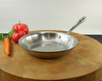 2 Rare Revere Ware Signature Series Chef Skillets By