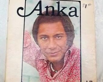 Paul Anka, Anka, Vintage Vinyl Record, 1974, United Artists Records UA-LA314-G, Pop Music, Vintage LP, 1970's Music, Collector's Item