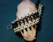 RESERVED - The Weaver - Native American inspired beaded bracelet