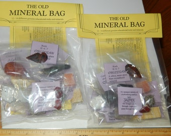Mineral Kit- group of 12 minerals