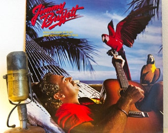 "ON SALE Jimmy Buffett ""Songs You Know By Heart: Jimmy Buffett's Greatest Hits"" Vinyl Record LP (Original 1985 Mca Records, ""Margaritaville"")"