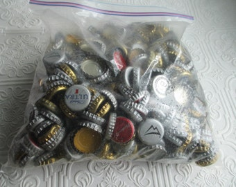 BOTTLECAPS 2 lbs 9 oz for Mixed Media or Altered Art Projects