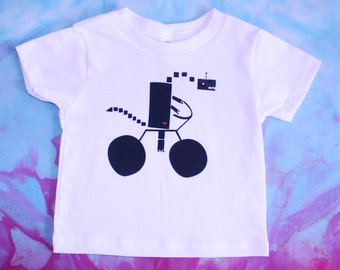 Toddler and Kid's T-shirt - Airplane DinoRobot - 2T, 3T, 4T, 5T, 6T