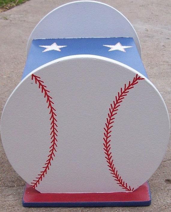 Kids Step Stools Benches Baseball Stool Sports Decor
