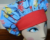 Minion Mania  Banded Bouffant Surgical Cap