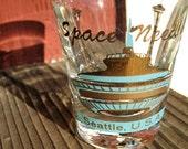 VINTAGE SPACE NEEDLE Shot Glass Mint Condition 1962