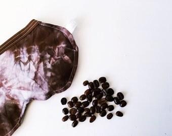 FINAL SALE Coffee Sleep Mask, Aromatherapy Eye Pillow, Eye Pillow, Eye Mask, Headache Relief, Gilmore Girls, Stars Hollow, Gift For Her