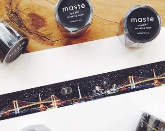Tokyo by maste masking washi tape mt