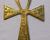 Large Brass Egyptian Ankh from the 1960s