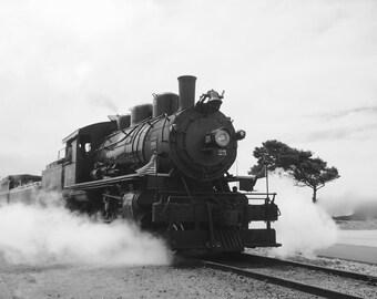 Vintage Steam Train 8x10