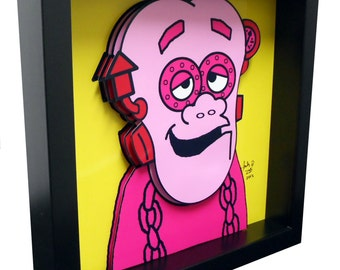 Frankenberry Cereal Box Art Funny Kitchen Art Print