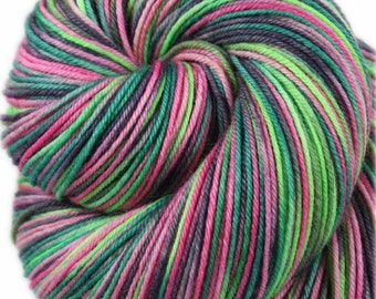 AHI POKE Superwash Merino/Nylon Variegated Fingering/Sock Yarn