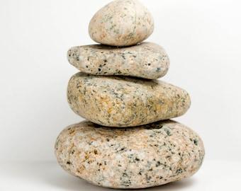 Rock Cairn Maine Beach Stones Zen Spiritual Inspirational Meditation Rocks