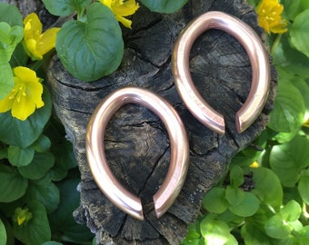Kryon - Copper Weights - Earrings for Stretched Lobes - Weights
